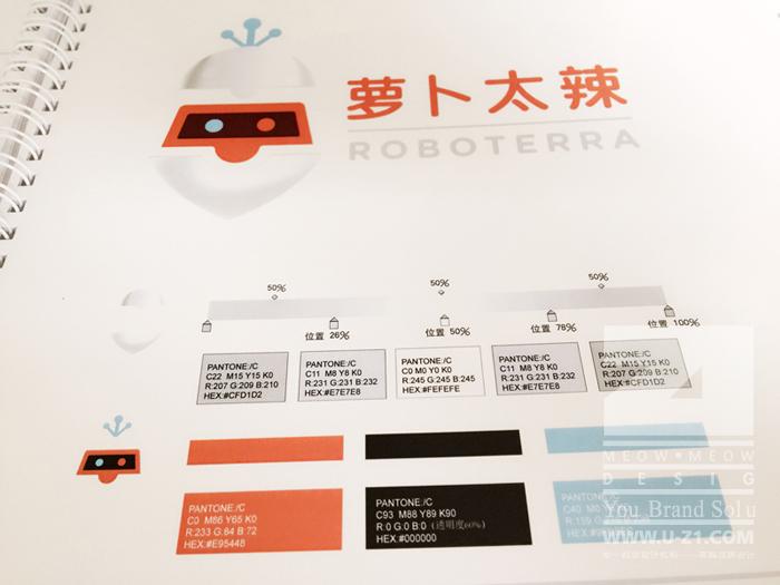 roboterra inc - 蘿卜太辣教育科技vis —— 企業vi形象設計